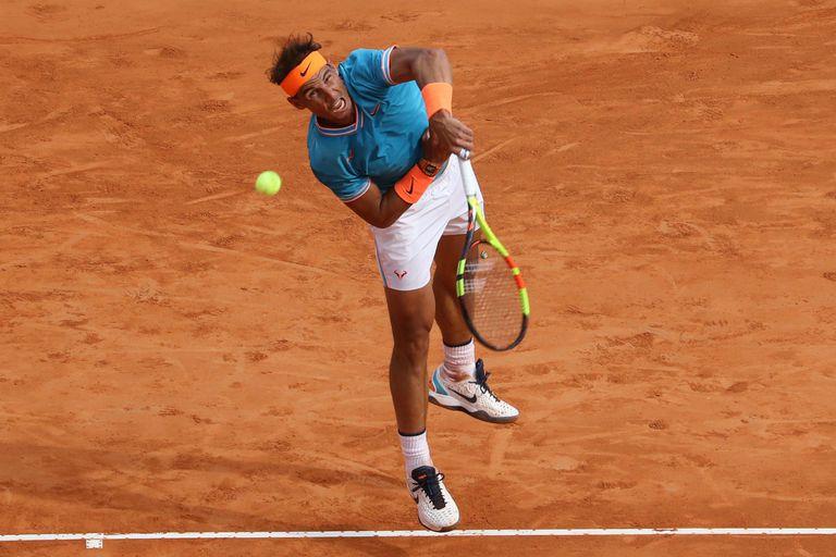 Rafael Nadal buscaba su final 13° en Montecarlo, pero chocó con un Fognini brillante