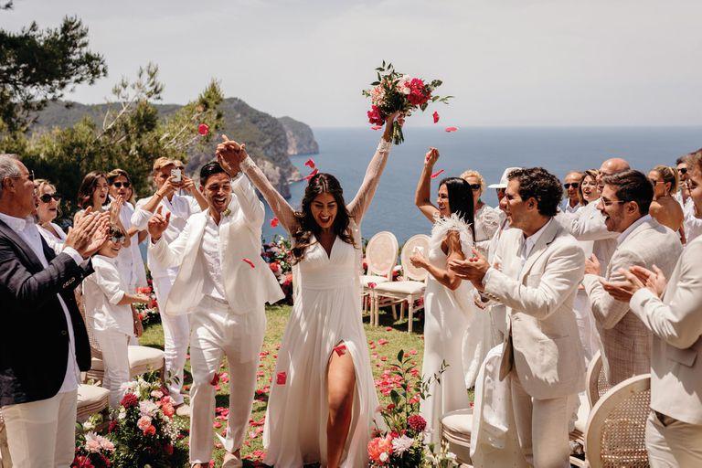 Exclusivo. Giovanni Simeone nos comparte todas las fotos de su boda en Ibiza