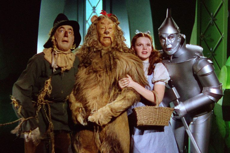 """El Mago de Oz, de Victor Fleming, donde Judy Garland interpreta la inolvidable """"Over the Rainbow"""""""