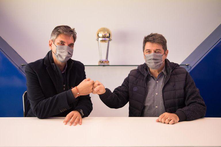 Mauricio Pellegrino renovó su contrato como entrenador de Vélez hasta junio de 2022