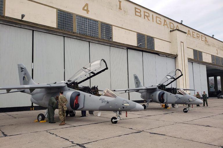 El avión Pampa nació en la década del 80 y desde entonces se fabrica en Córdoba