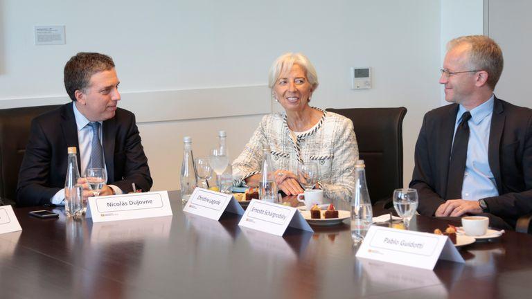 Apoyo del FMI a las políticas del Gobierno