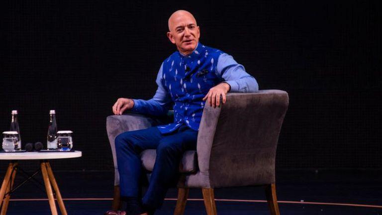 La fortuna de Jeff Bezos está estimada en 187.000 millones de dólares.