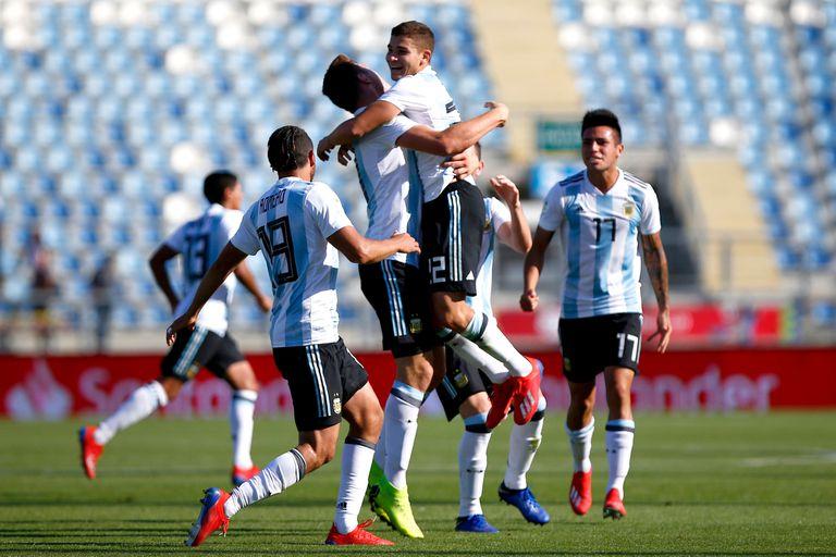 La Argentina sumó su primera victoria en el hexagonal que lleva a Polonia