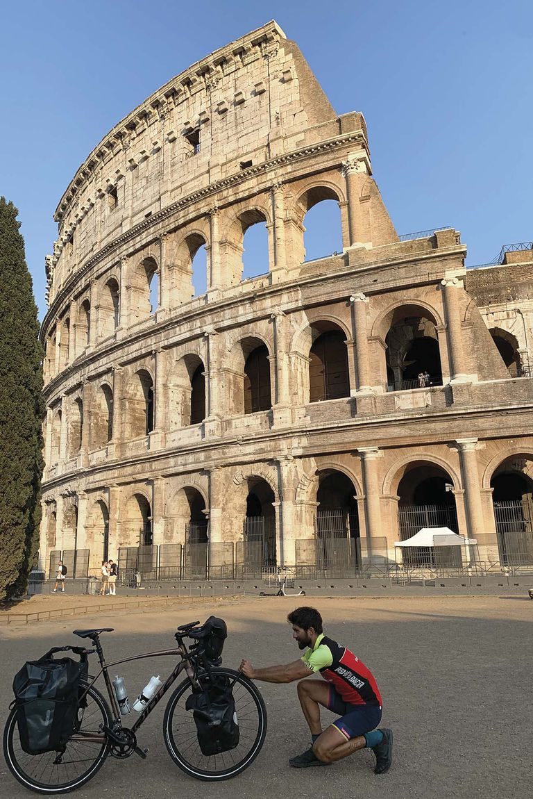 Coliseo, Roma. 17 de septiembre de 2020.