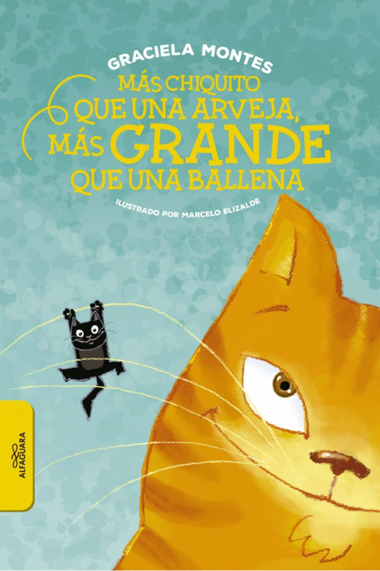 Un cuento de Graciela Montes protagonizado por dos gatos de muy distintos tamaños