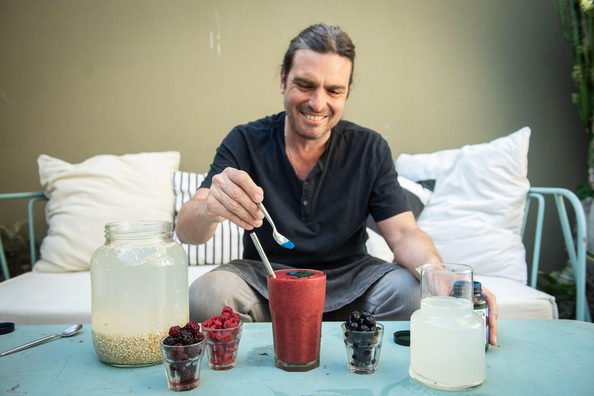 Diego Castro, especialista en Raw Food, relaciona directamente la alimentación con el bienestar