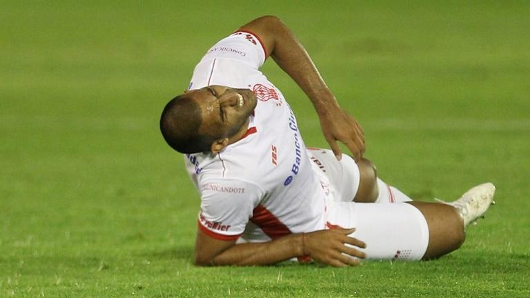 Wanchope se lesionó ante Vélez