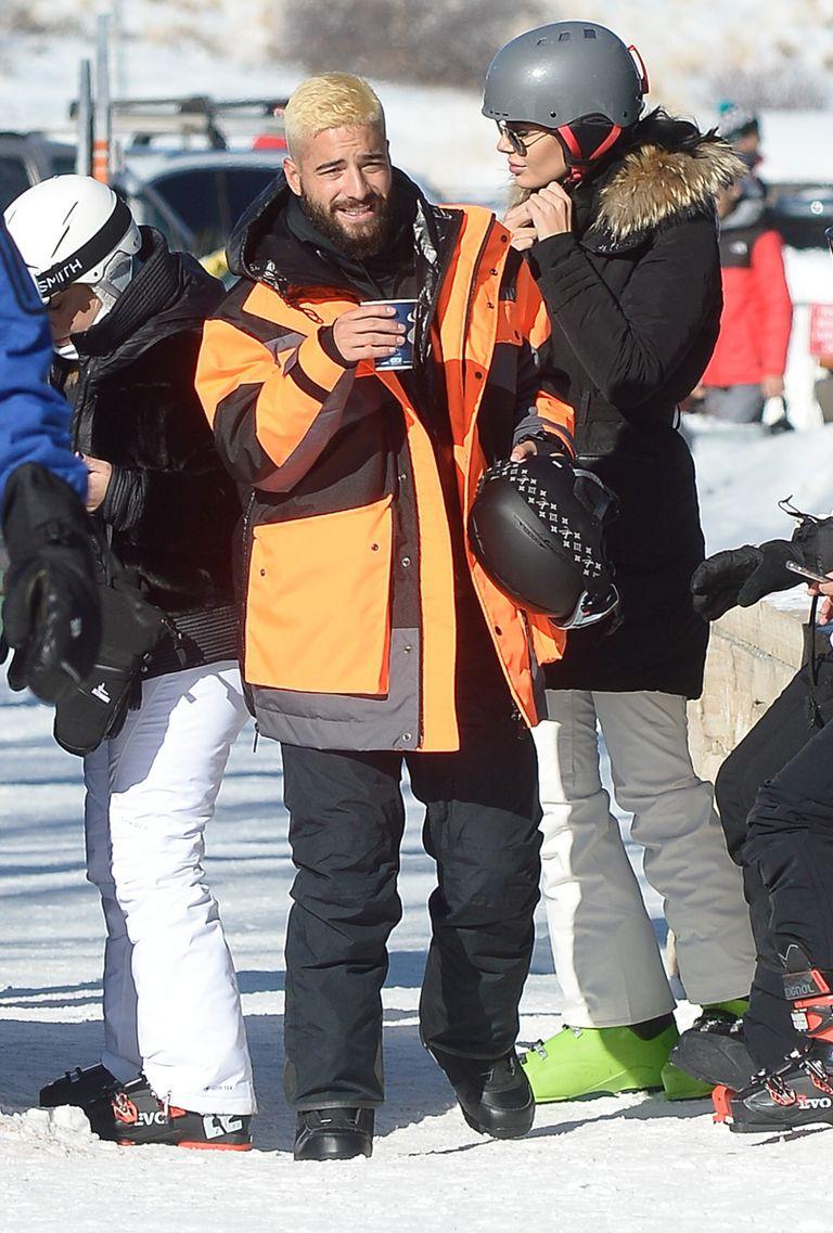 Maluma se divierte en Aspen con quien parece ser su nuevo amor, la modelo rusa, Vivien Rubin