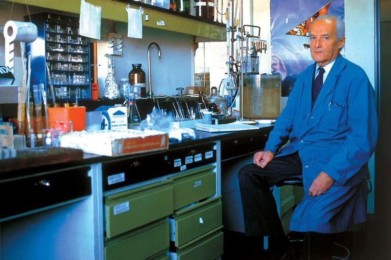 Luis Federico Leloir recibió el premio Nobel de Química en 1970