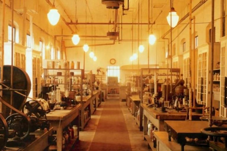 El laboratorio de Edison en Nueva Jersey fue el lugar de nacimiento de muchos de sus inventos, tanto los que ganaron popularidad en su vida como los que no lo hicieron