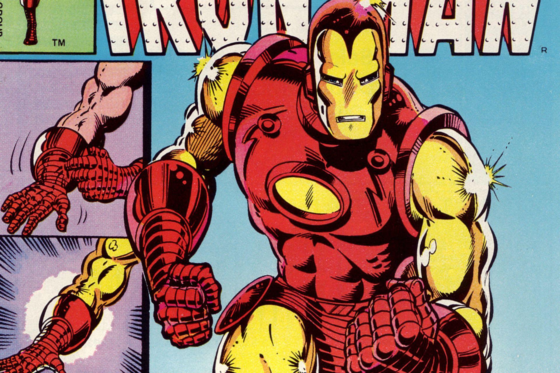 Tony Stark, el hombre en la armadura