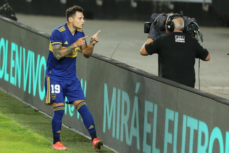 Zárate, feliz: contó que habló con Soldano antes del segundo penal de Boca