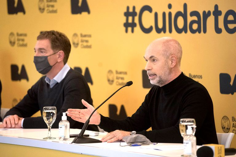 Horacio Rodríguez Larreta, Diego Santilli
