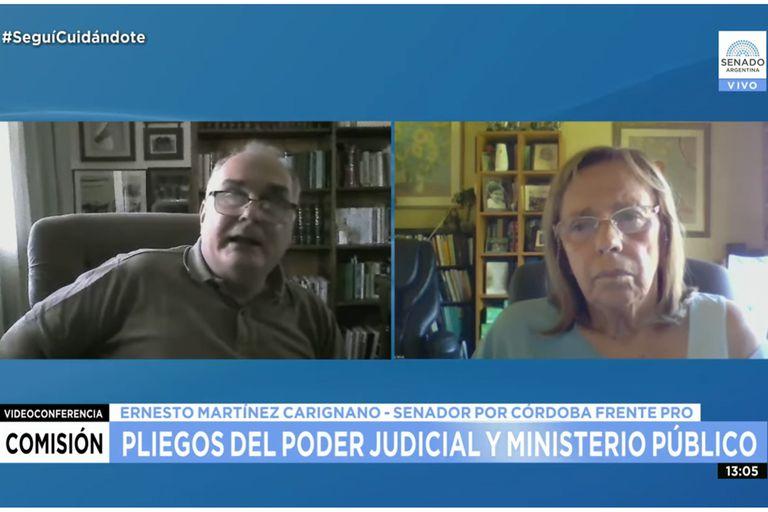 Tensión:un senador rechazó el acuerdo para una jueza y lo señalan por patriarcal