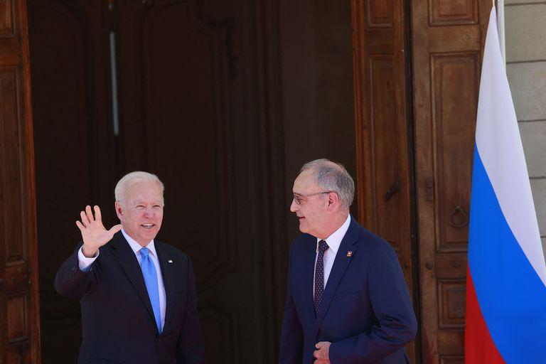 Comienza la reunión entre Joe Biden y Vladimir Putin