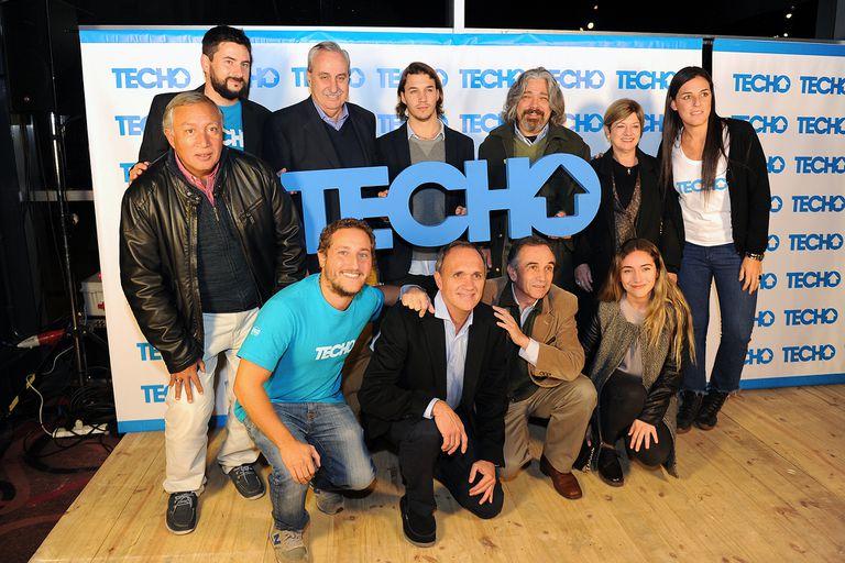 Festejo de los quince años de la Fundación Techo