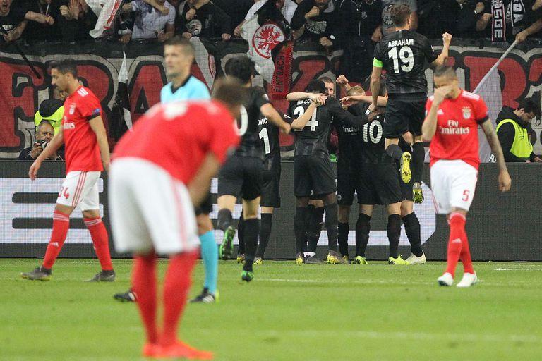Con el argentino David Abraham como capitán, Eintracht Frankfurt logró la hazaña: los alemanes vuelven a una semifinal de la Europa League tras 39 años