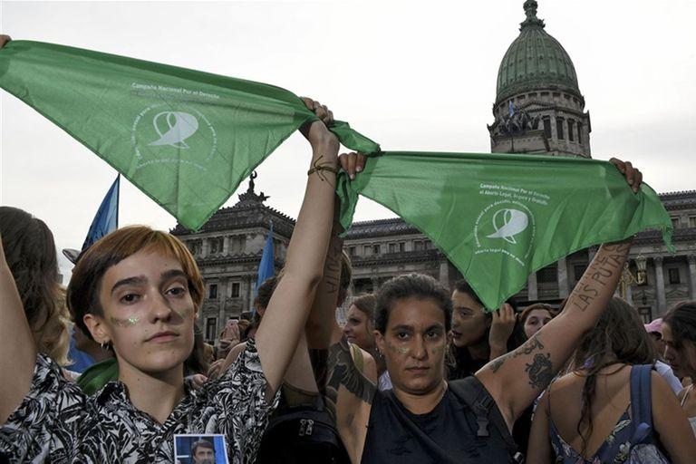 El color del pañuelo característico de la Campaña por el aborto legal, seguro y gratuito no tiene ningún motivo en particular