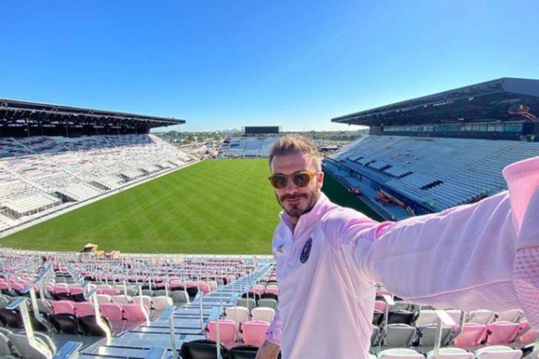 David Beckham en busca de dos figuras del fútbol internacional para reforzar a su equipo
