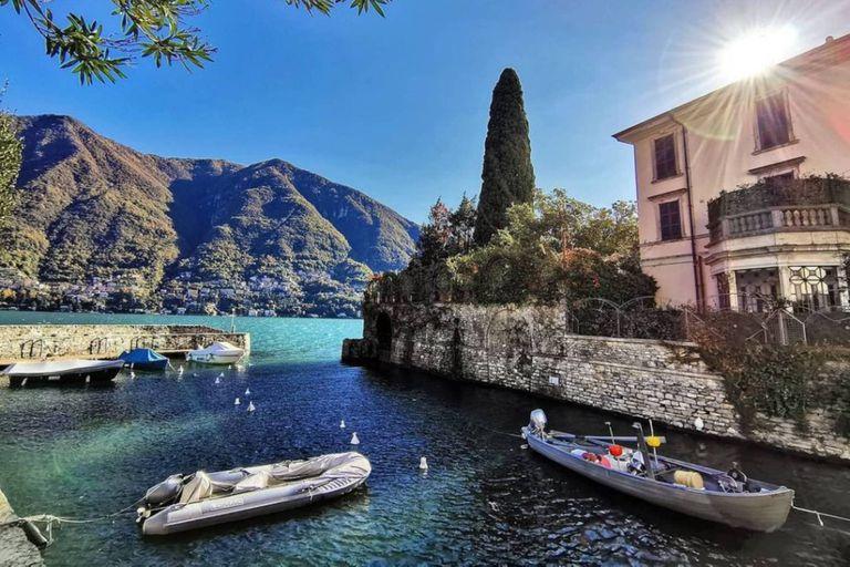 La mansión de George Clooney en el Lago di Como
