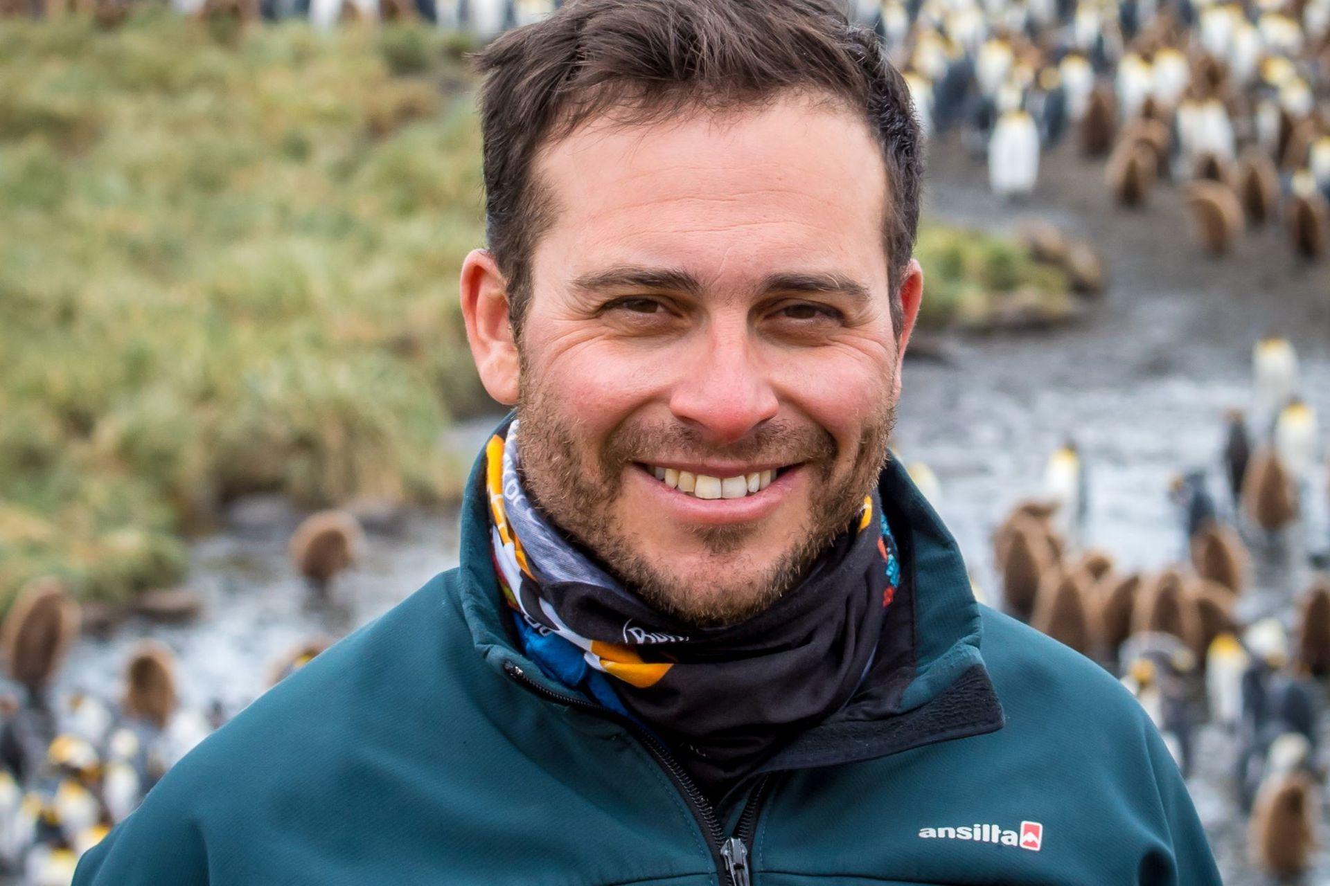Federico Gargiulo, aventurero y guía de expediciones, vive entre la Antártida y el Ártico
