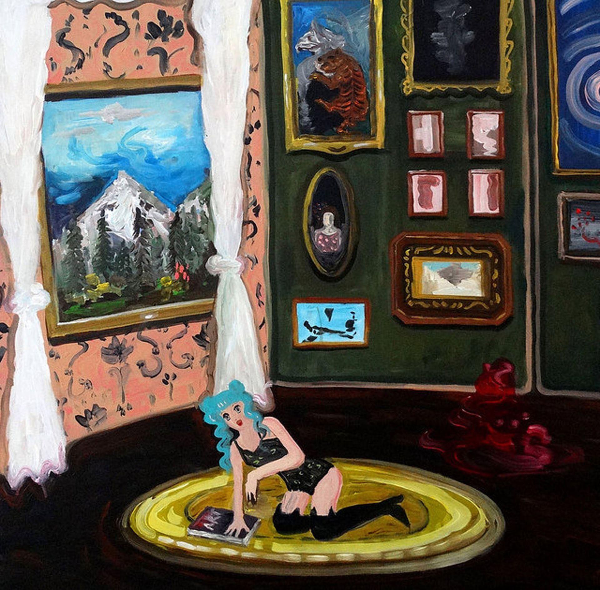 """Animé con ventana"" (2017), de Fátima Pecci Carou. Galería Piedras, sección Barrio Joven"
