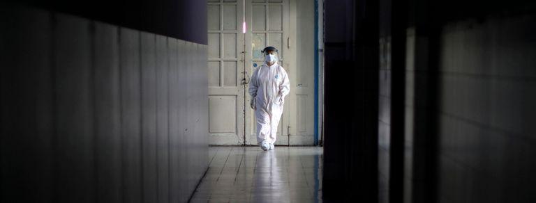 Coronavirus: la lucha diaria de los médicos en la Argentina, en fotos