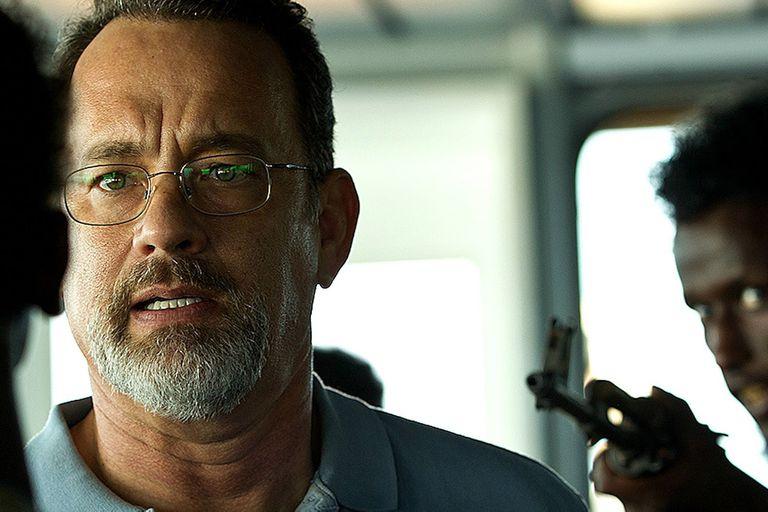 Capitán Phillips, con Tom Hanks, basado en una historia real