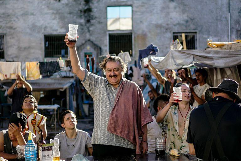 Claudio Rissi es Mario Borges, un recien llegado en San Onofre
