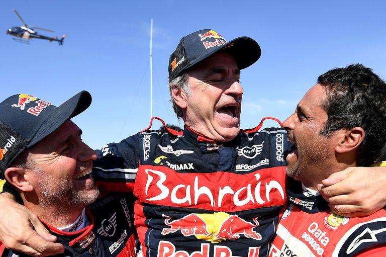 Rally Dakar: Sainz, campeón por tercera vez a los 57 años