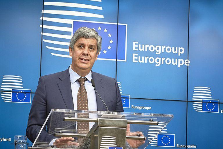 Mário Centeno, al ser elegido presidente del Eurogrupo