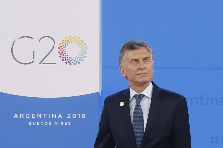 Macri inauguró formalmente la cumbre en Costa Salguero