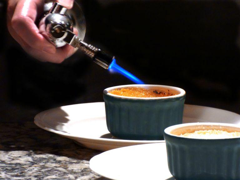 Crème brûlée de vainilla