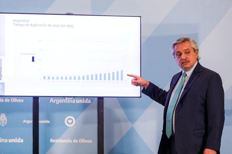 """El presidente Alberto Fernández prepara el anuncio de una """"reapertura progresiva"""""""