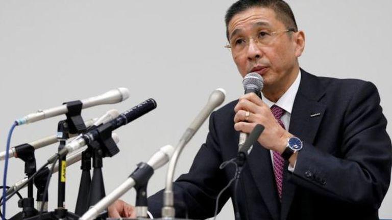 """Hiroto Saikawa de Nissan dijo que creía que la mala conducta """"ocurrió durante un largo período"""""""