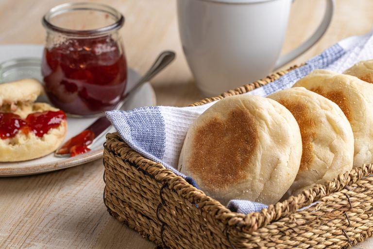 Pan sin horno English Muffins
