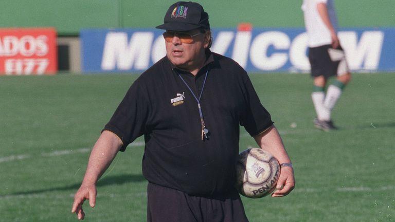 Garisto, en su etapa como entrenador