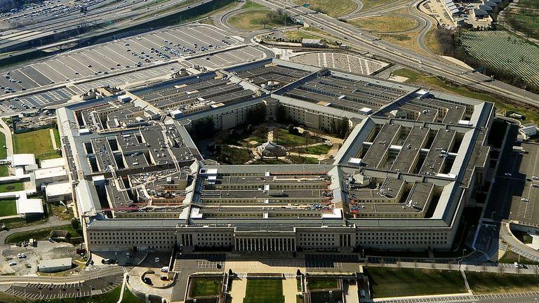 El edificio del Pentágono, sede del Departamento de Defensa de Estados Unidos