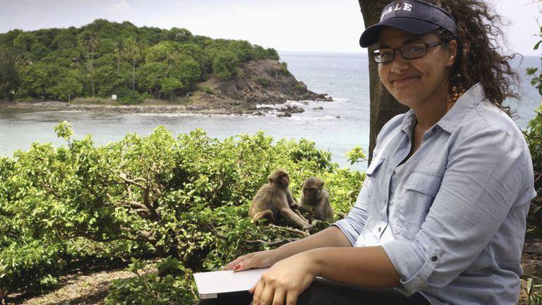 En su búsqueda por responder qué hace a la mente humana única, Santos ha investigado a nuestros parientes más cercanos: los monos.
