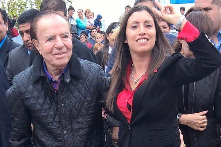 La actual vicegobernadora acompañó a Menem en la lista de senadores del PJ en 2017