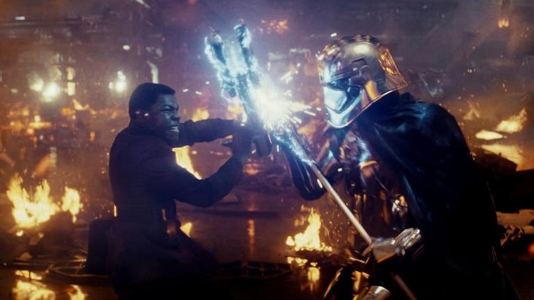 Finn y Rey, dos de los nuevos personajes que llegaron para quedarse