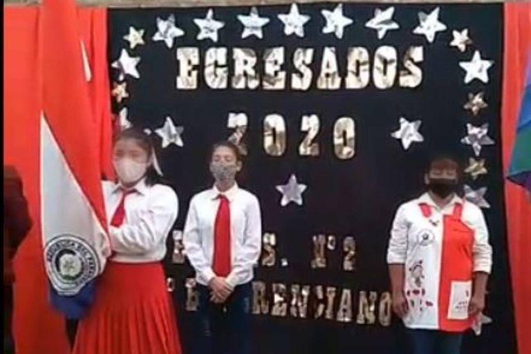 Una escuela de Chaco cerró el ciclo lectivo con un homenaje al Che Guevara