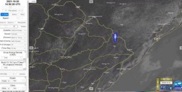"""""""Un bólido"""": alertan por la caída de un meteorito o basura espacial en la frontera entre Uruguay y Brasil"""