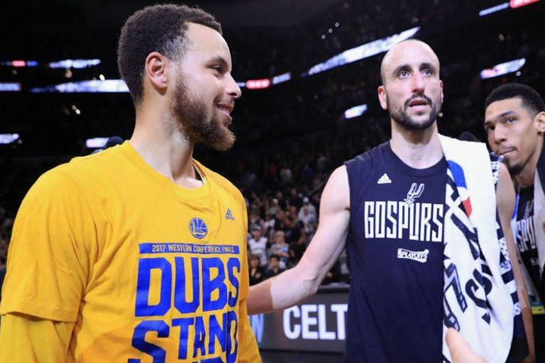 NBA. Curry salvó a Golden State y su entrenador lo comparó con Manu Ginóbili