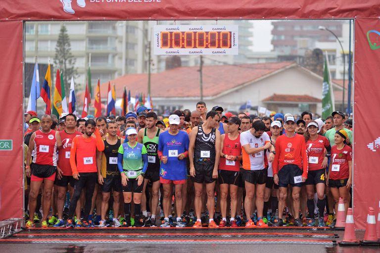 Punta del Este vivió la 10° edición de su tradicional Maratón