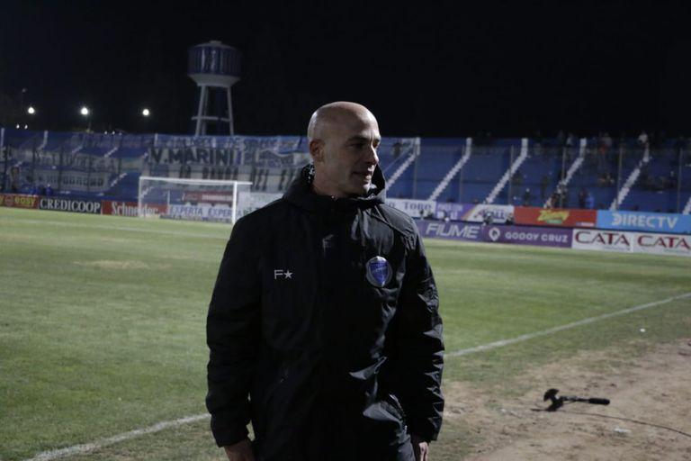 Sebastián Méndez, DT de Godoy Cruz