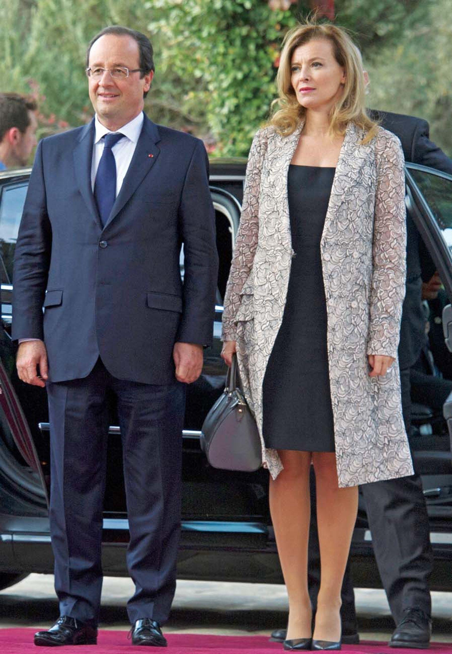 Valérie Trierwiler fue la mujer con quien Hollande entró al Elíseo. La periodista fue su compañera durante ocho años.