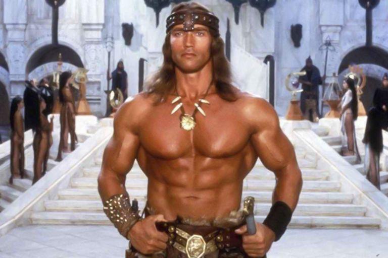 Arnold Schwarzenegger en Conan, el bárbaro