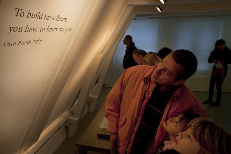 Otto, el padre de Ana decidió construir la Casa-Museo en 1960